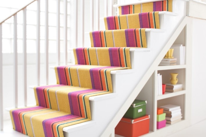 How To Install Carpet On Stairs A Path Appears   Putting Carpet On Stairs   Design   Wear And Tear   Commercial   Stair Turned   Step