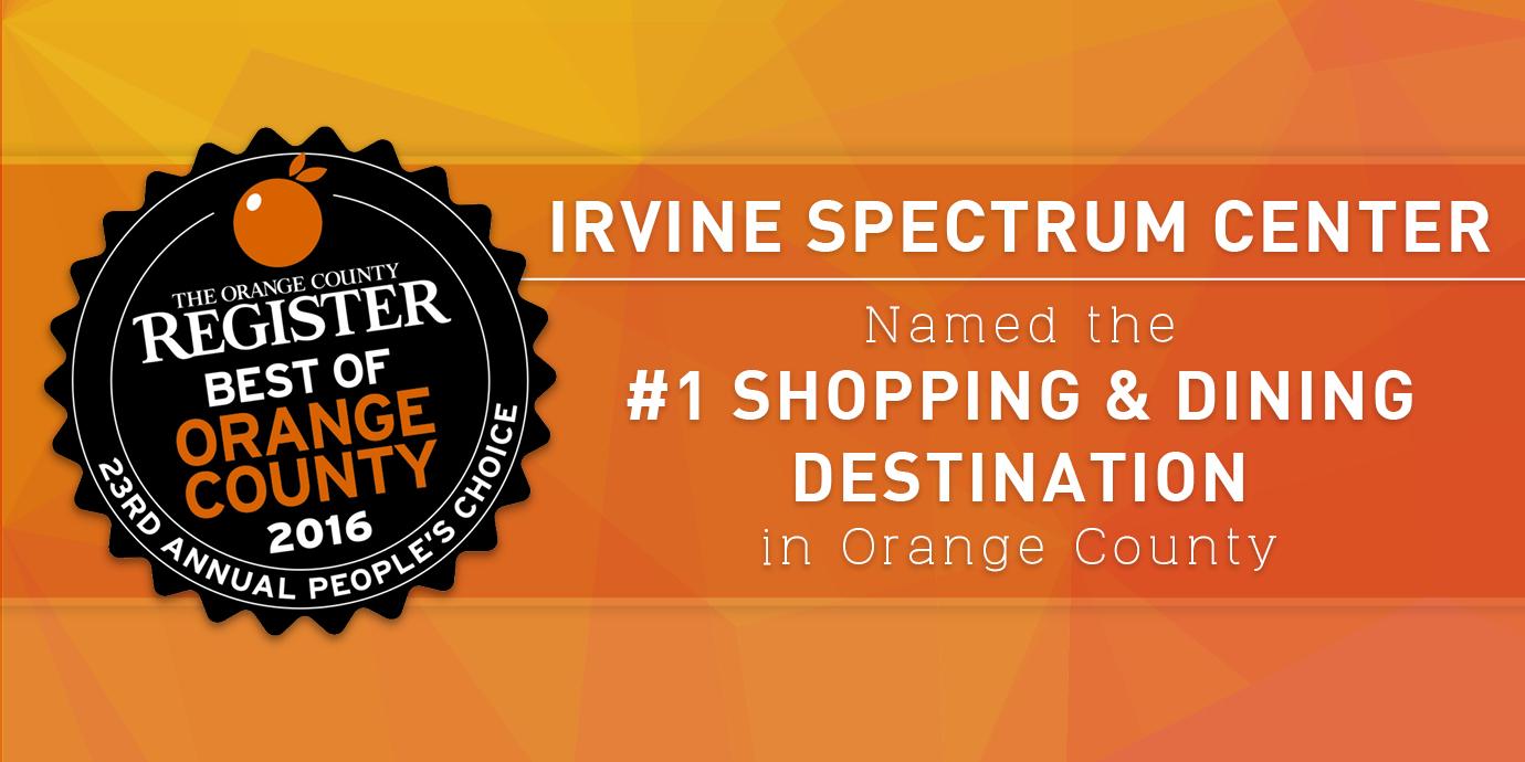 Map Irvine Spectrum Parking