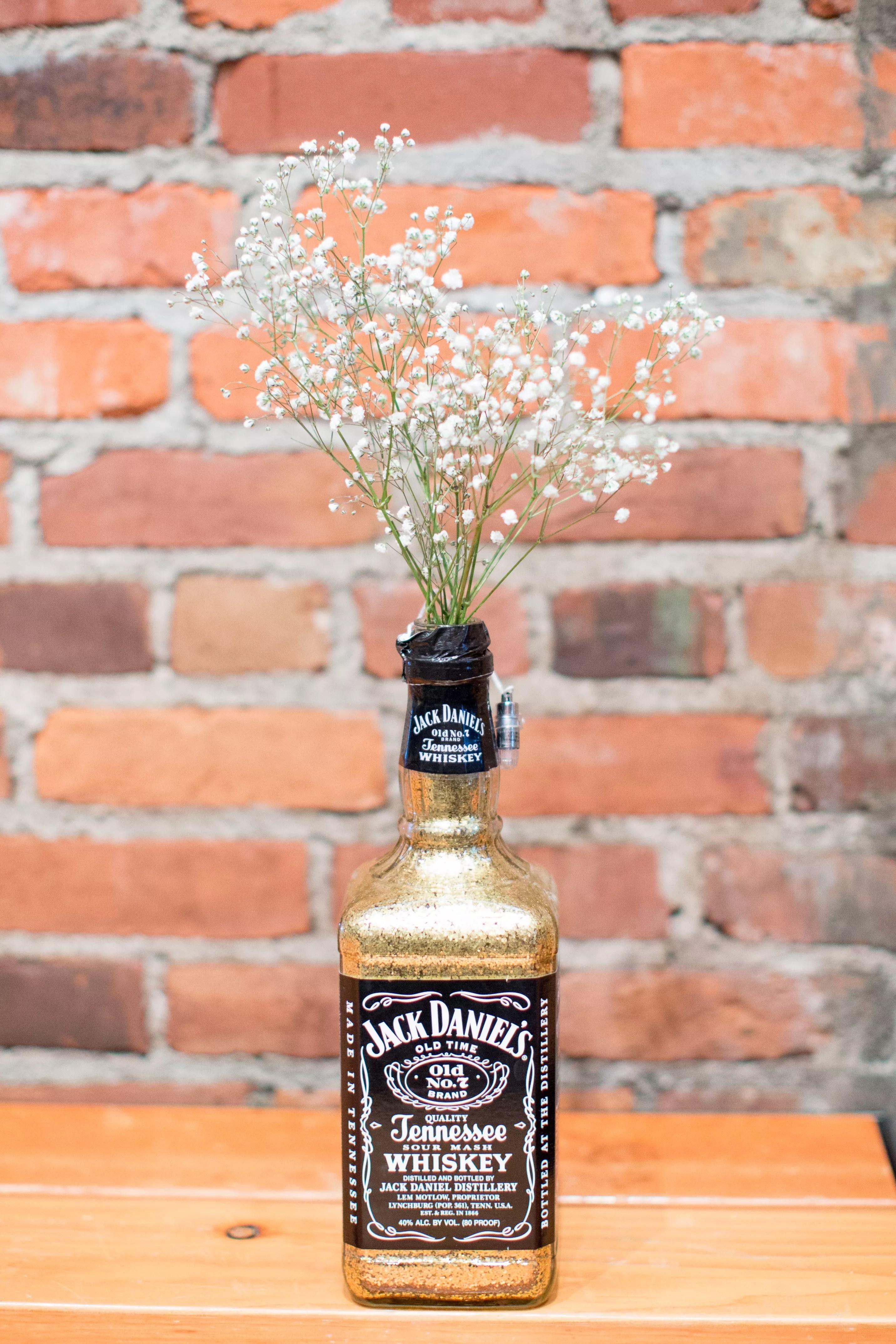 Glamorous Jack Daniel S Bottle Centerpieces