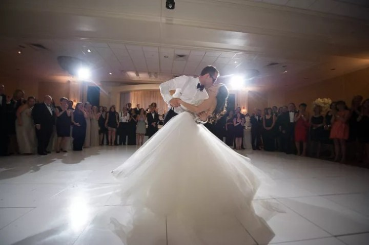 First Dance at Woodholme Country Club