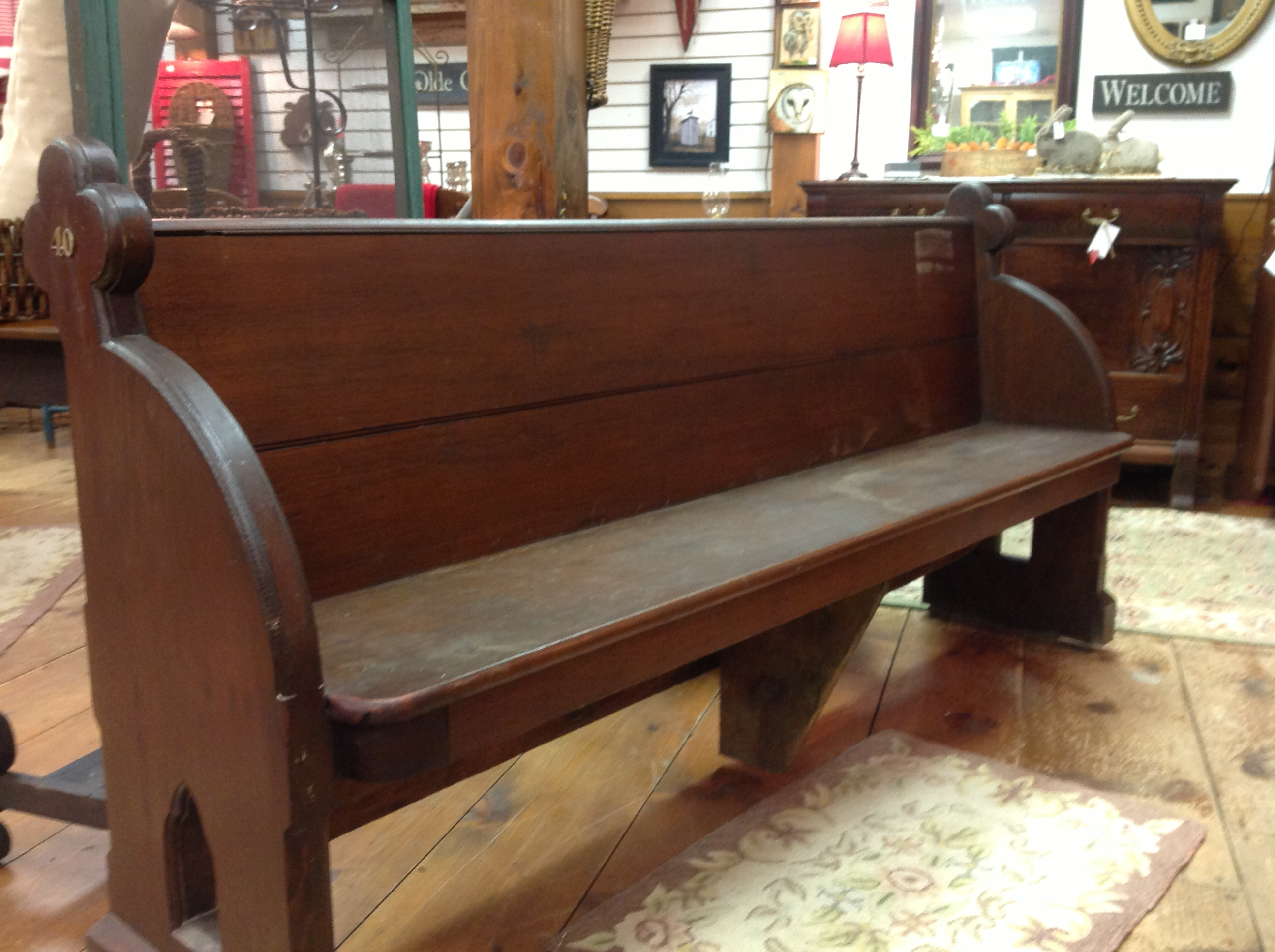 Church Pew Appletree Cottage Antiques Amp Home