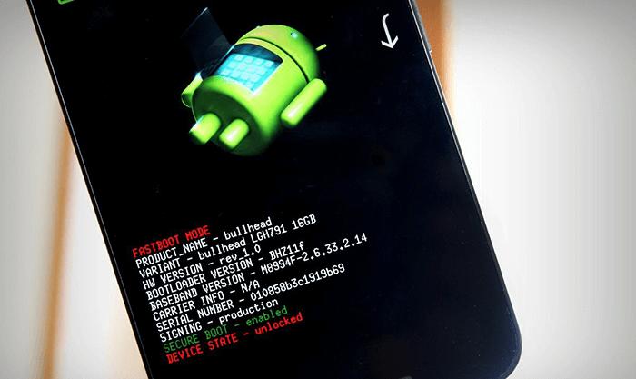 Téléchargez Android en mode Mode Fastboot