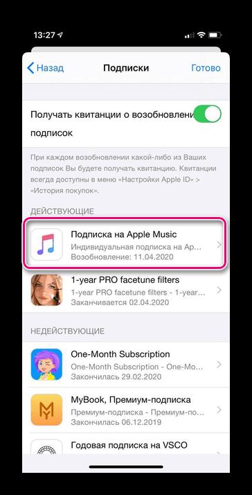 Az Apple zenét találjuk
