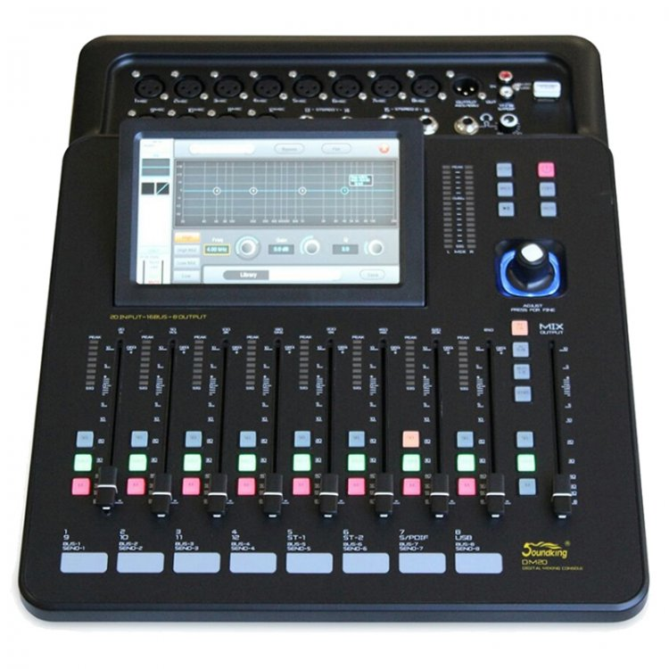 Touch Screen Audio Mixer