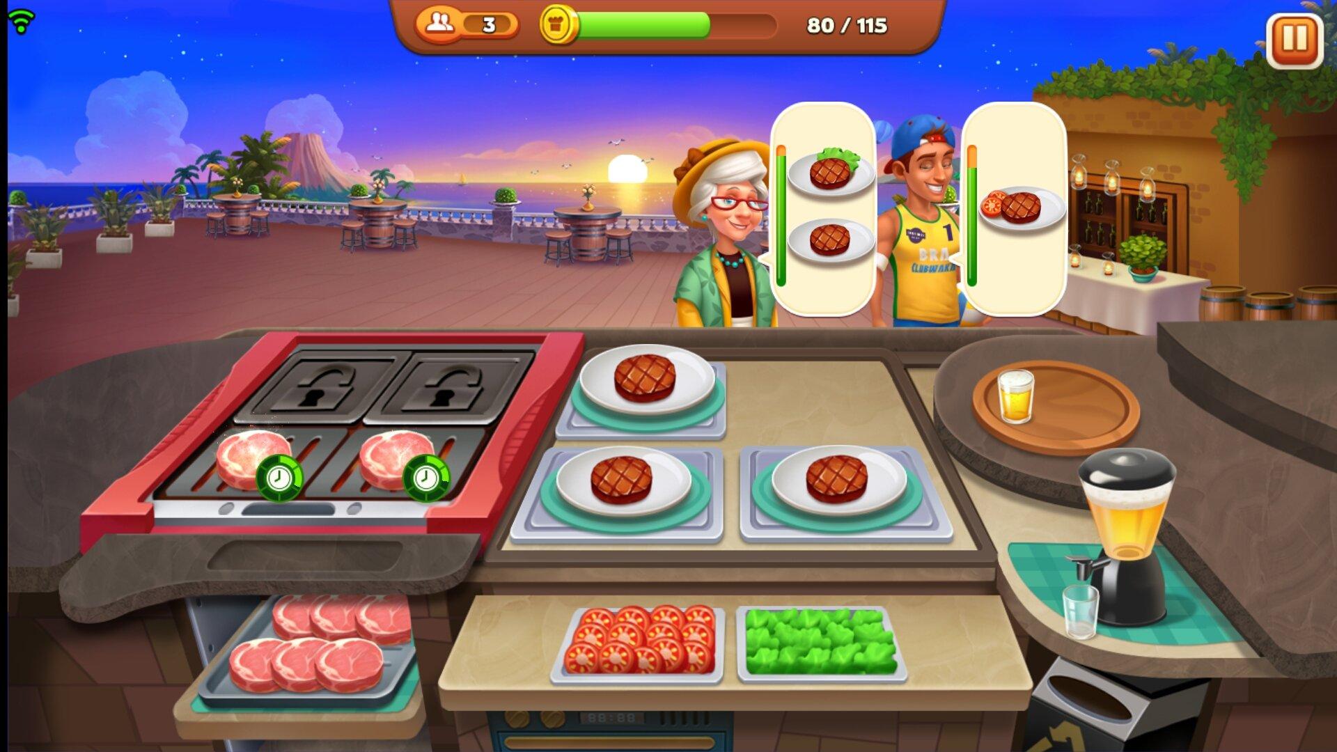 Games Free Online Restaurant