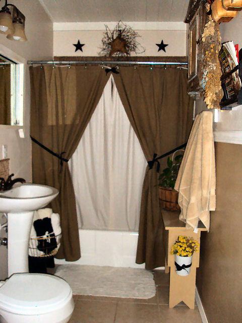 Bathroom Primitive Decor