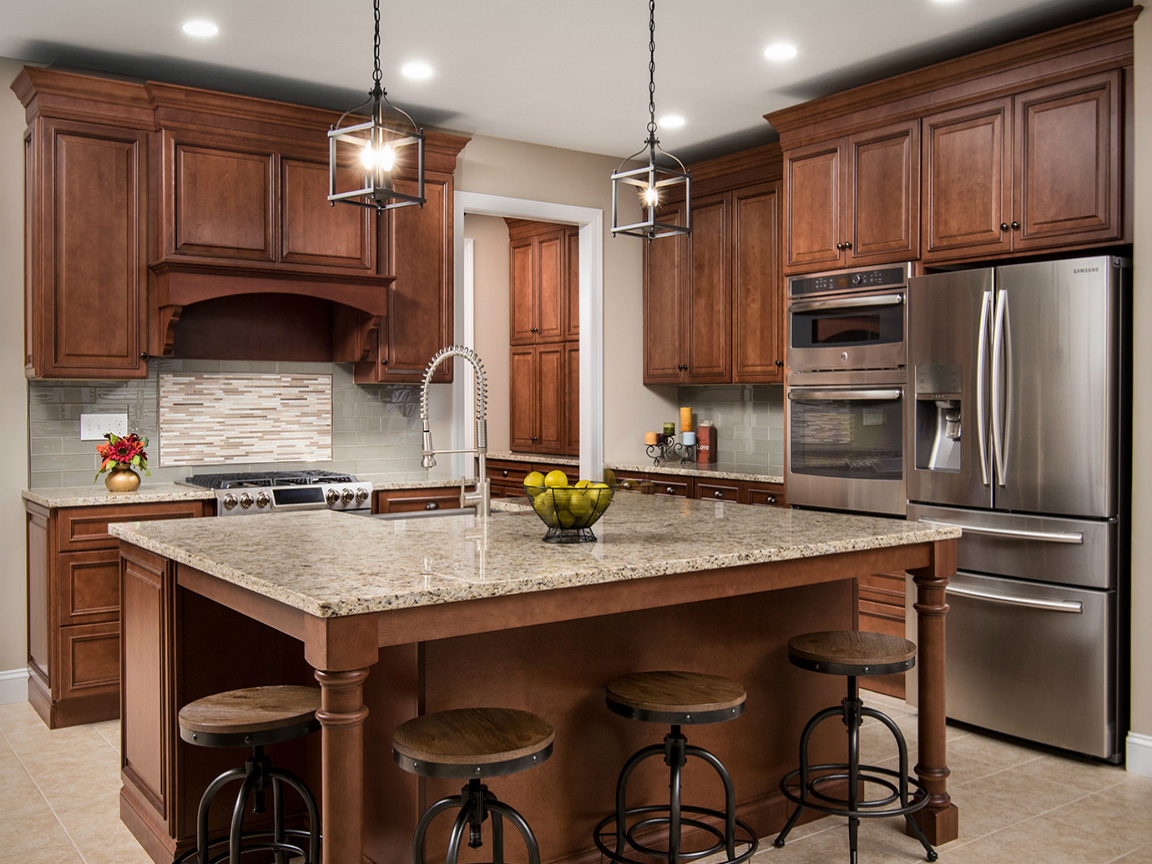 Best Kitchen Gallery: Fabuwood Wellington Cinnamon Aqua Kitchen And Bath Design Center of Kitchen Cabinets Nj on rachelxblog.com