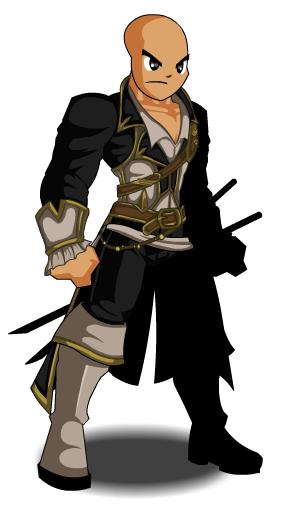 White Shadow Hunter Suit Aqw
