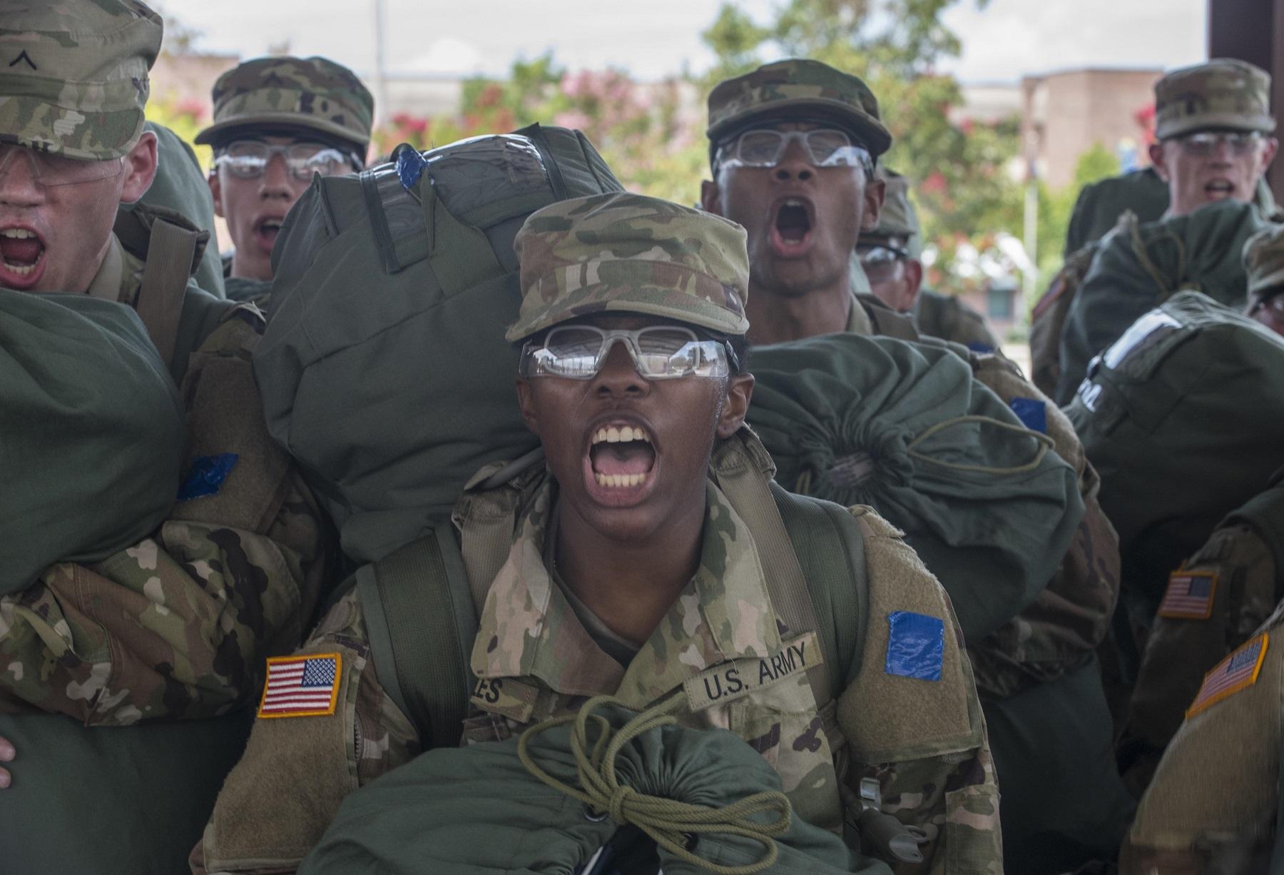 Navy Basic Training Fire