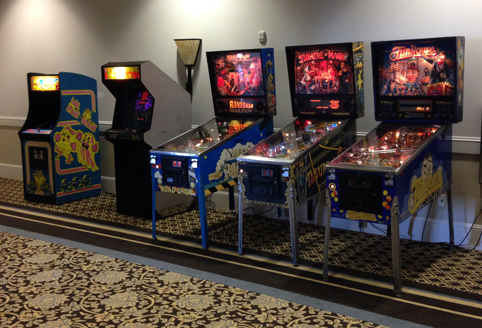 Arcade Amusements   Interactive Tradeshow Marketing     Arcade Games     CLASSIC GAMES   PINBALL