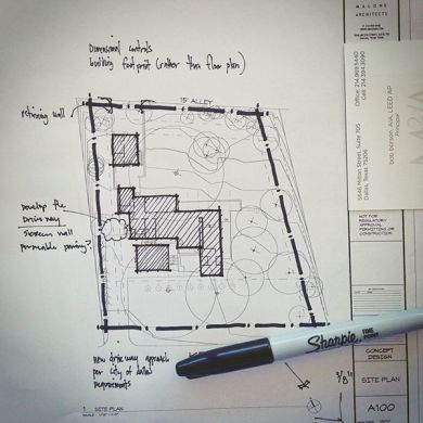 Architectural Sketch site plan line weight   ARCH student com Architectural Sketch site plan line weight