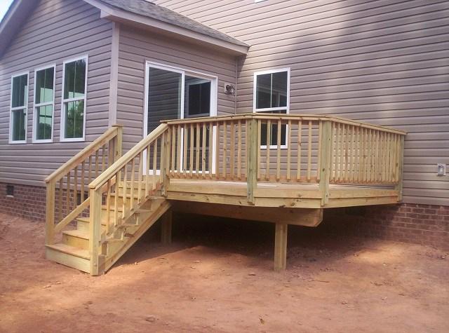 Pressure Treated Pine As Use On Central Sc Decks Custom Decks | Pressure Treated Wood Handrail | Menards | Deck Handrail | Cedartone Premium | Treated Pine | Treated Deck Stairs