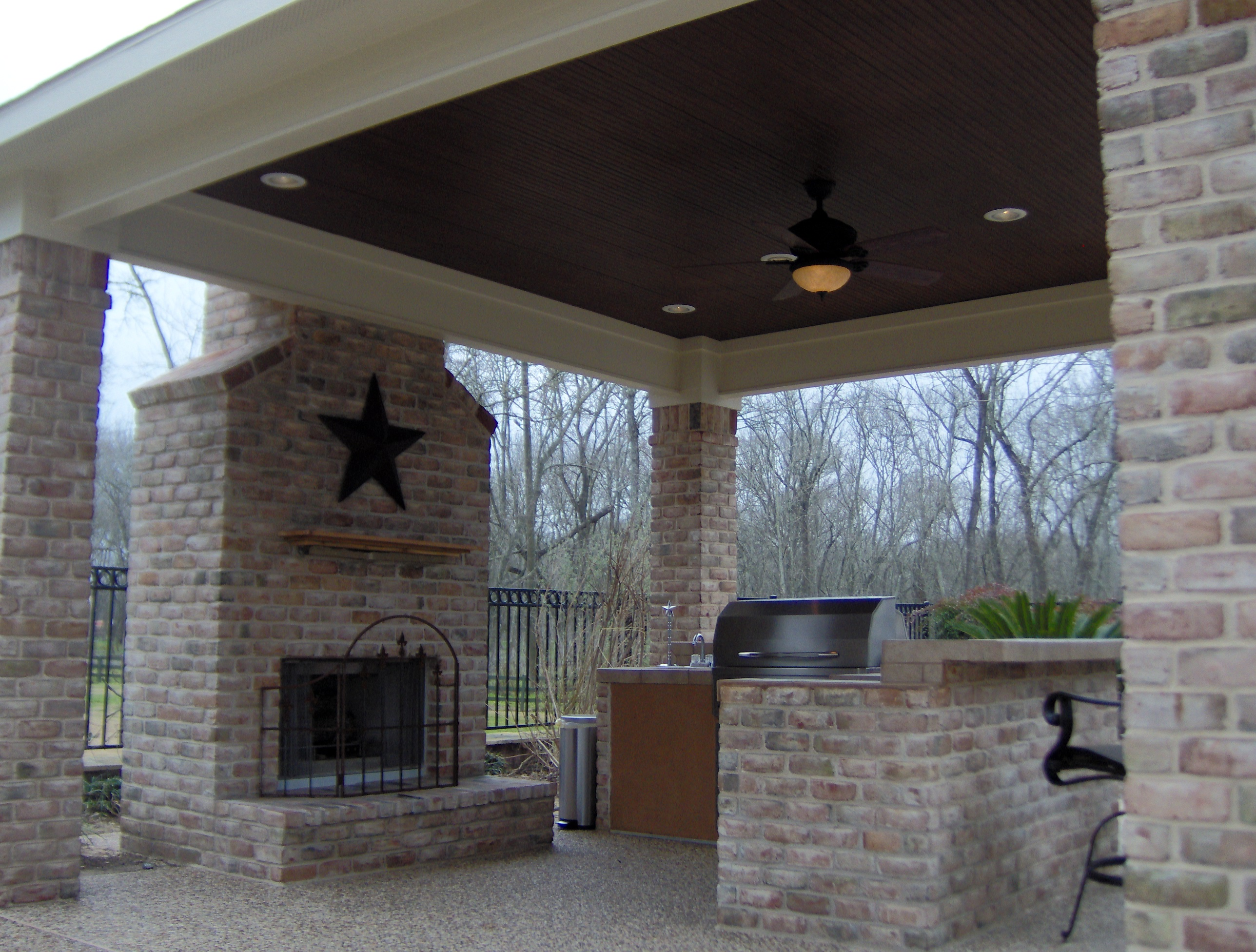 What Are My Options For A Covered Patio Dry Deck