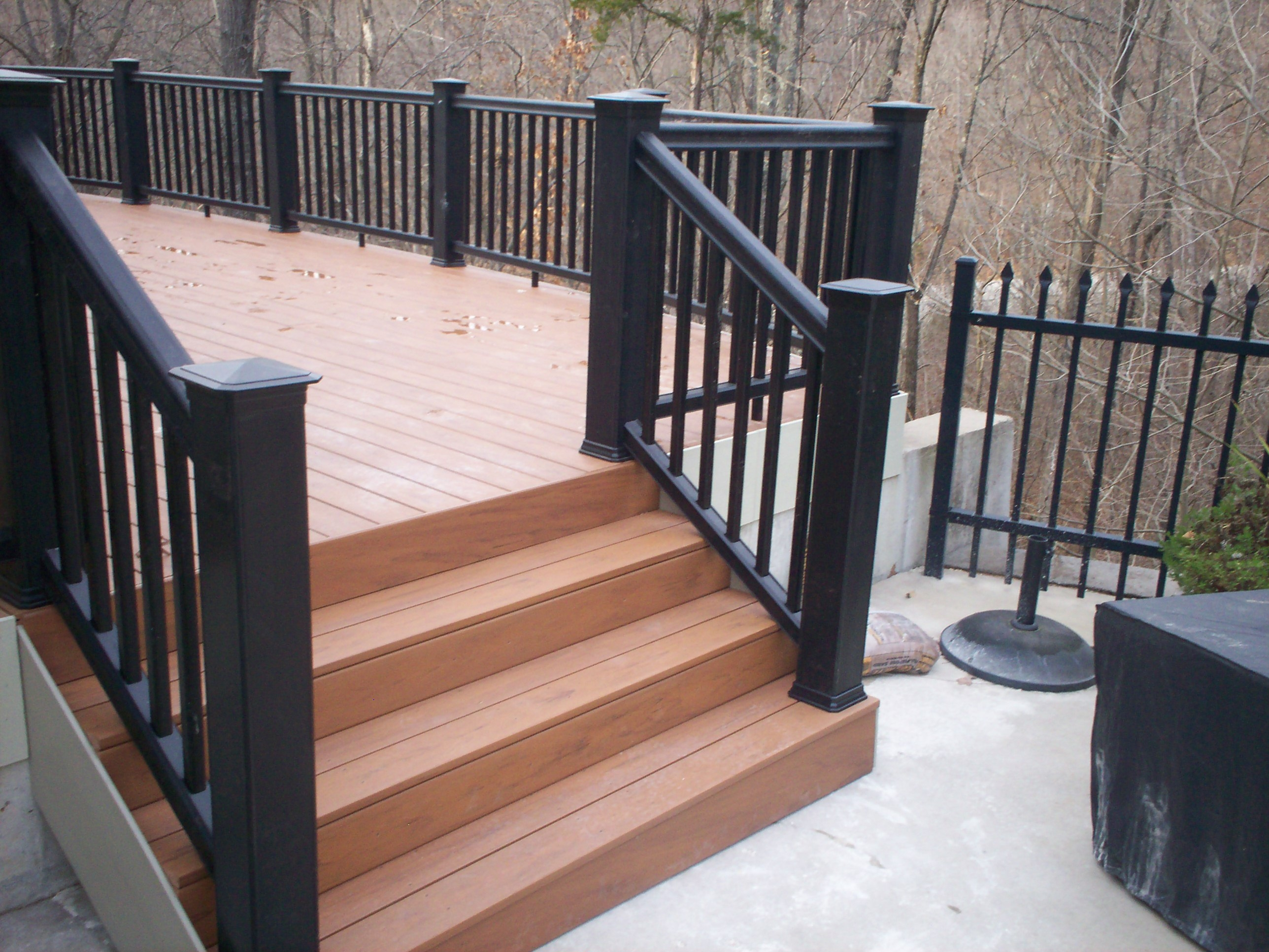 Deck Railing – Stylish Stunning Safe St Louis Decks | Safety Handrails For Outdoor Steps | Railing Kits | Simplified Building | Wrought Iron | Wood | Metal