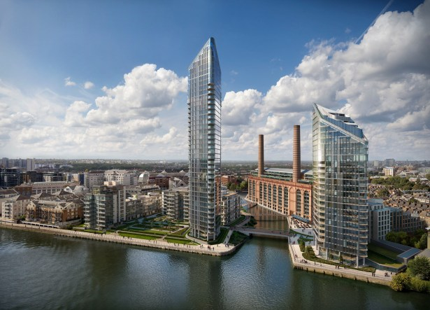 Lots Road Waterfront London Max Esposito Archinect