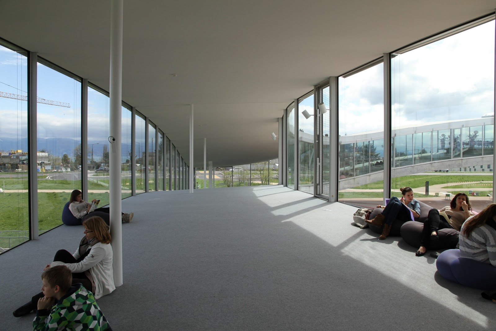 Rolex Learning Center Sanaa Interior