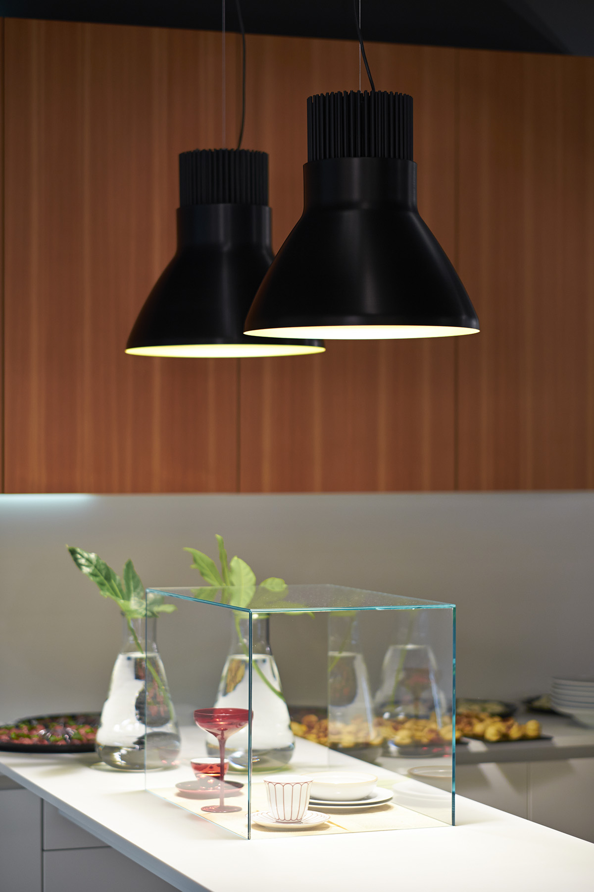 Box Pendant Light