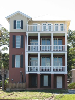 Vacation Home Plans For 4 Story With Lots of Outdoor Spaces Picture 2 of Marina Village