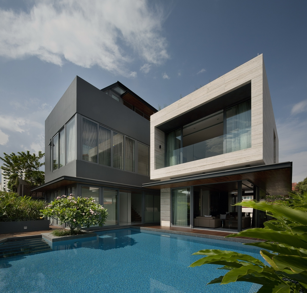 Top 50 Modern House Designs Ever Built    Architecture Beast Modern dark and bright facade