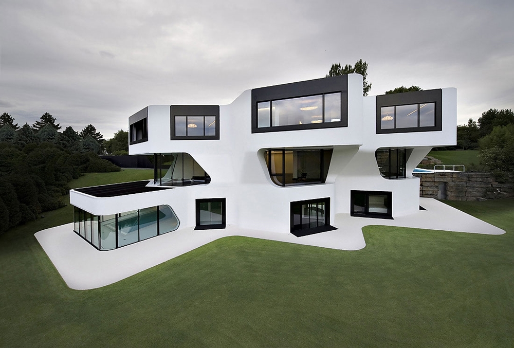 Top 50 Modern House Designs Ever Built    Architecture Beast Futuristic modern home
