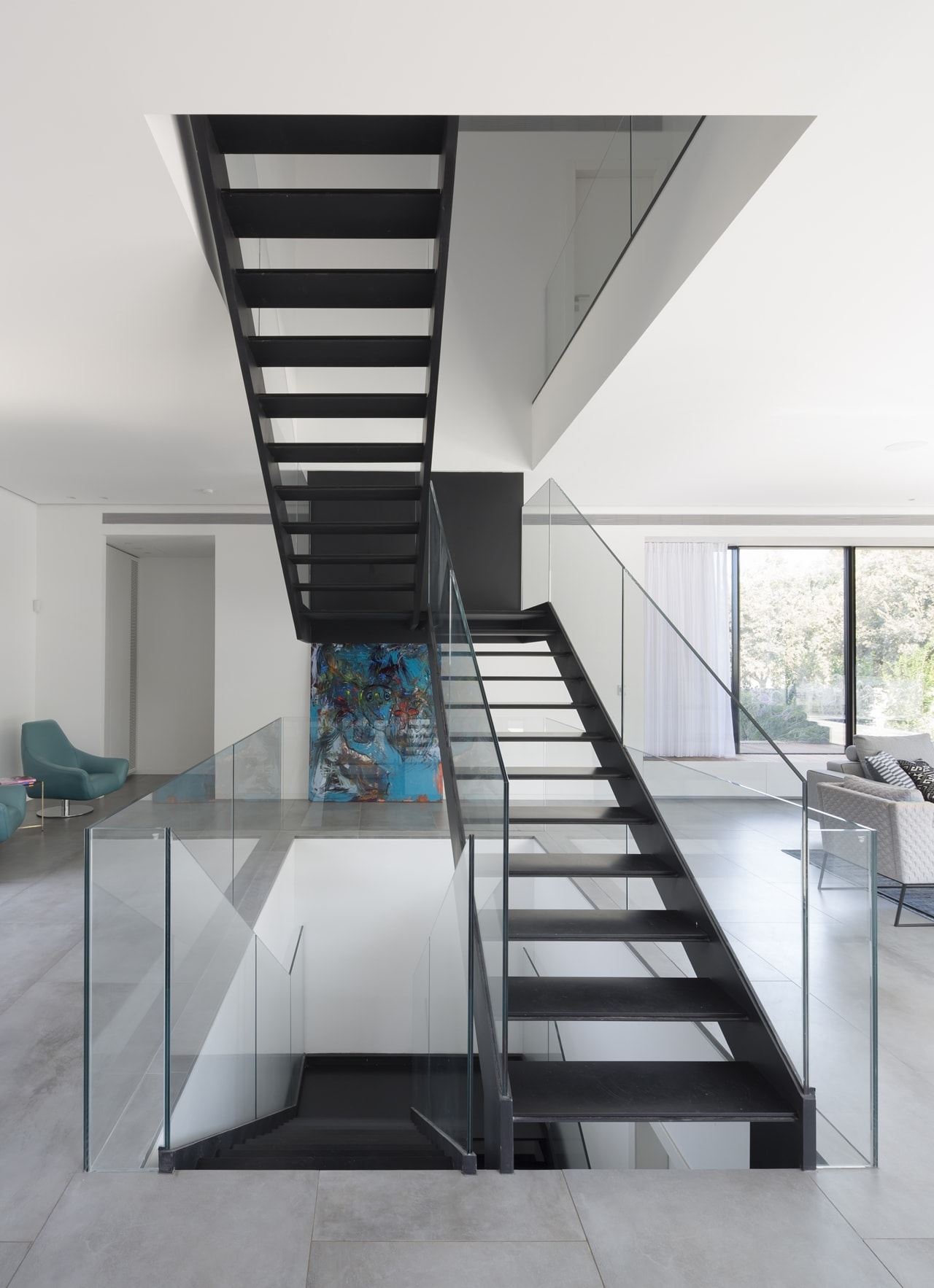 Simple Modern House With An Amazing Floating Stairs Architecture | Simple Staircase Designs For Homes | Kitchen | Interior | Tiny | Simple 2Nd Floor House | Space Saving