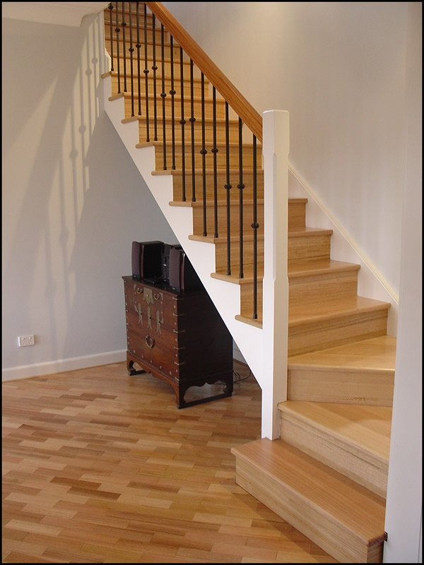 Turning Stairs Quarter Turn Staircase Idea Staircases Pinterest | Double Winder Staircase Design | Handrail | Attic | Bespoke Staircase | Medium Oak | Small Space
