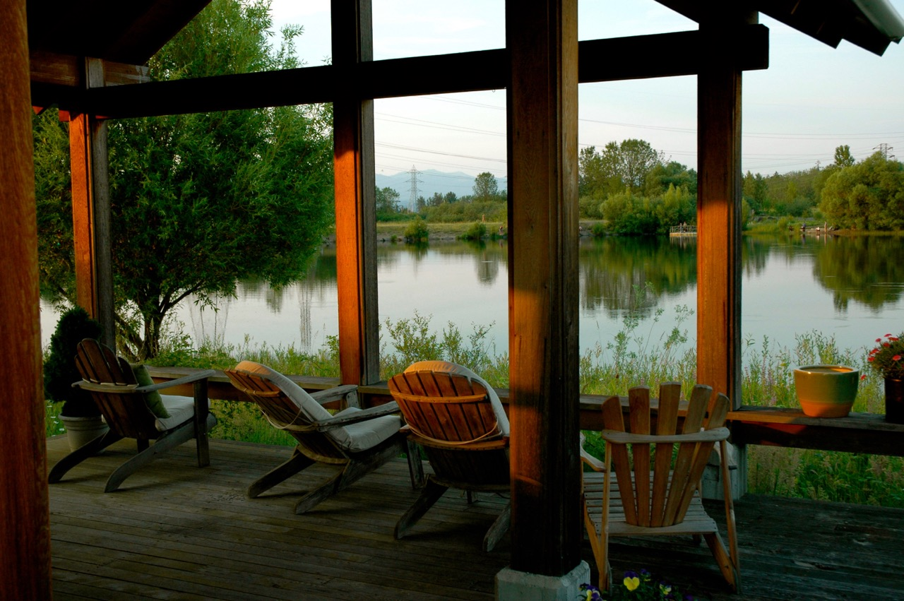 Salish Pond Cottages Architizer