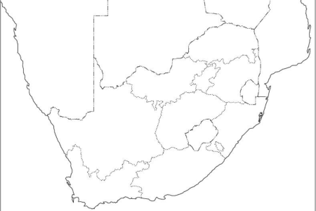 south africa political map outline » Full HD MAPS Locations ...