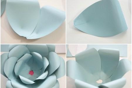 plantillas para hacer flores de papel » Full HD MAPS Locations ...