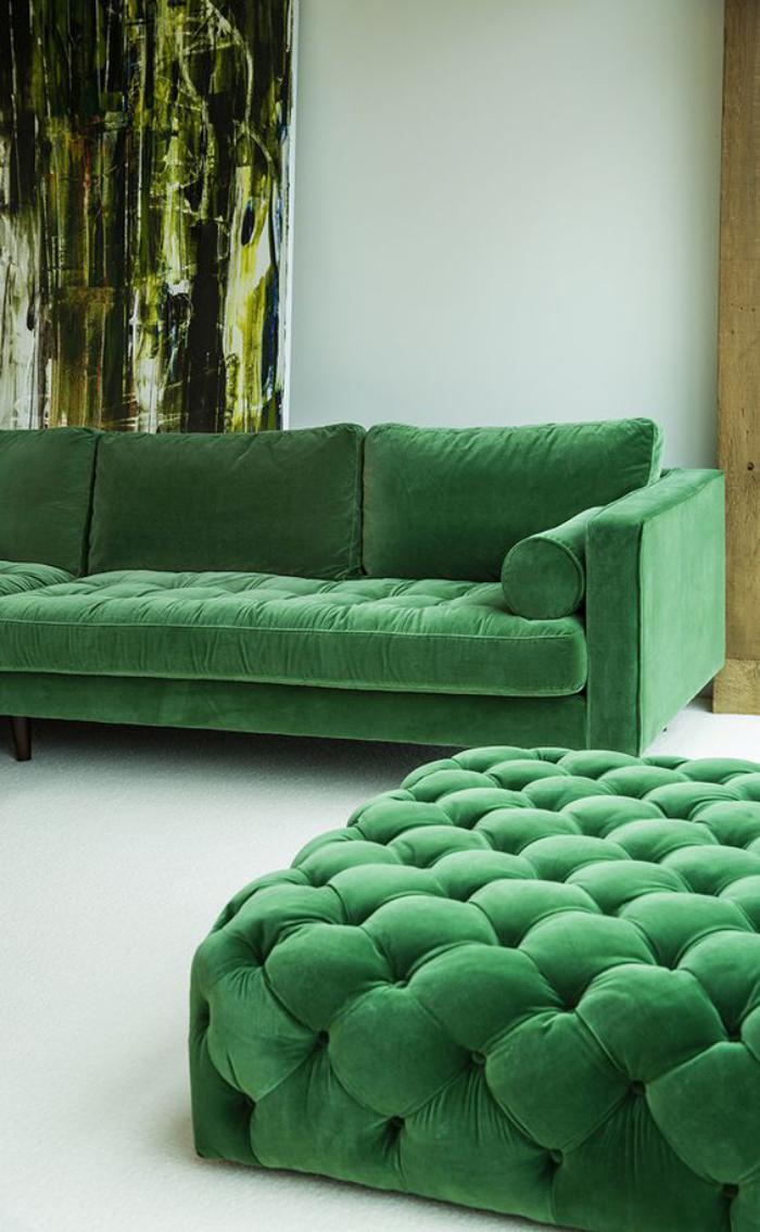 Sofa Chaise Longue Vintage