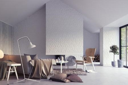 peinture d co chic en gris anthracite deco cool un carrelage anthracite au sol et une peinture gris profond ce petit salon utilise la couleur gris