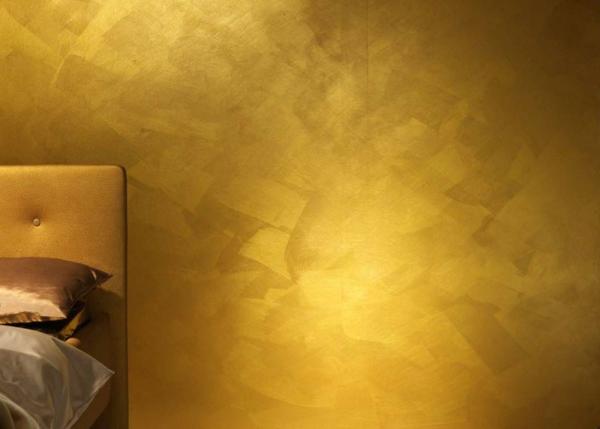 Einrichten Mit Farben Goldene Wandfarbe Und M 246 Bel F 252 R