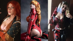 Rus modelin inanılmaz cosplayleri!