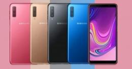 Samsung'tan A7 2018 için renk geçişli kılıflar!