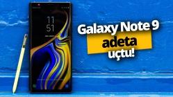 Galaxy Note 9 Android Pie ile adeta uçtu!