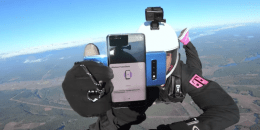 12.000 feet yükseklikte Galaxy S10 incelemesi!