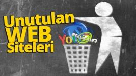 Unutulan web siteleri! Geçmişin en popüler siteleri!