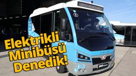 Yerli elektrikli minibüs Karsan Jest Electric - vLog