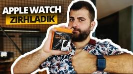Apple Watch'u Spigen ile zırhladık! (Video)
