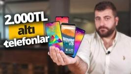 2.000 TL altı en iyi akıllı telefonlar 2019 (Video)