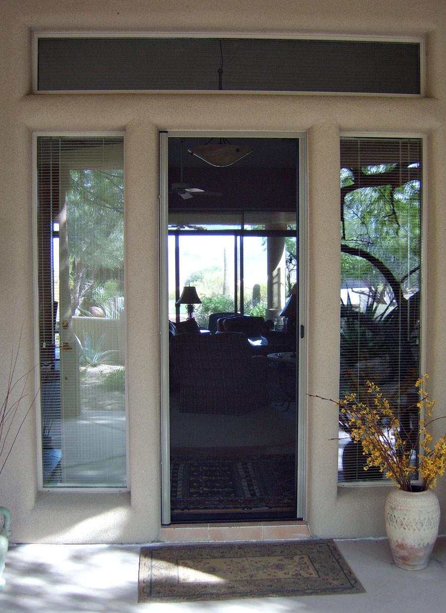 Retractable Screen Doors Arizona Sun Screen
