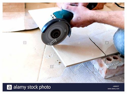 Is It Possible To Cut Tiles With An Angle Grinder