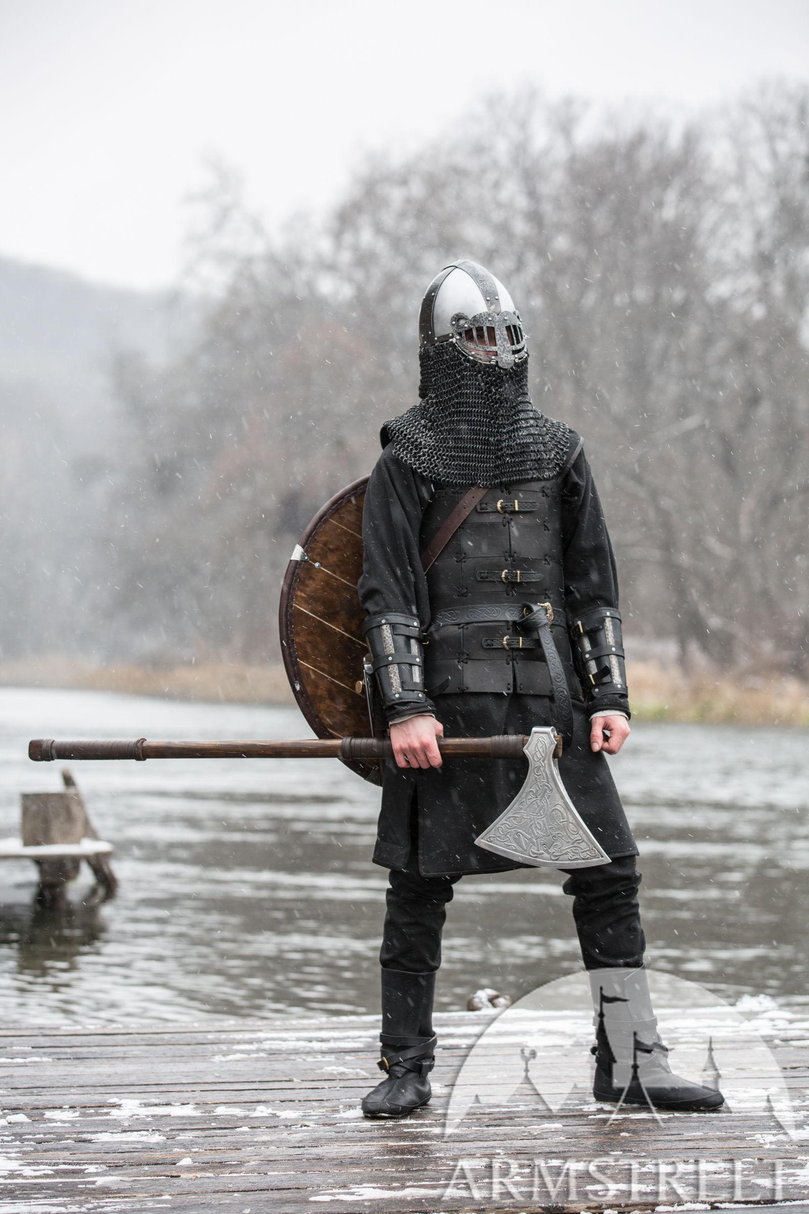 Viking Style Helmet Ragnvaldur The Traveller For Sale