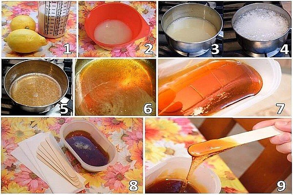 Как делать процедуру шугаринг в домашних условиях - рецепт