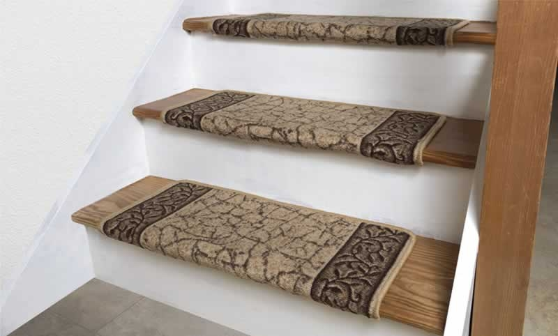 How To Install Carpet Stair Treads On Your Staircase Arrow | Padded Carpet Stair Treads | True Bullnose Carpet | Carpet Runners | Staircase Makeover | Dog Cat Pet | Stair Risers