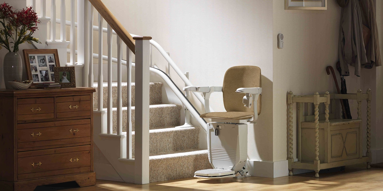 2020 Stair Lift Prices How Much Does A Stair Lift Cost | Chair Rail On Stairs | Double | Traditional | Stained Wood | Remodeling | Wainscoting