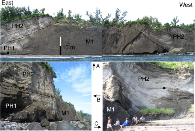 Drivers of explosivity and elevated hazard in basaltic fissure     Download full size image