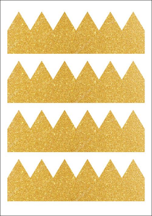 تاج کاغذ با دستان خود: قالب با عکس، گام به گام MK