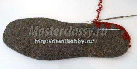 Киізден жасалған кроссовкалар: Сипаттамасы бар схемалар