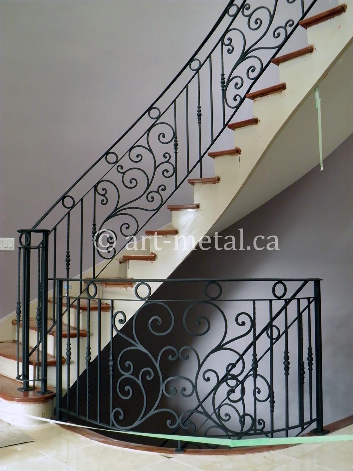 Get Original Wrought Iron Designs For Gates And Railings   Wrought Iron Handrail Designs   Staircase   Iron Pipe   Cast Iron Railing   Garden   Geometric Railing